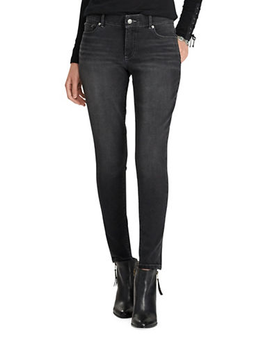 Chaps Four-Way Stretch Jeans-GREY-10
