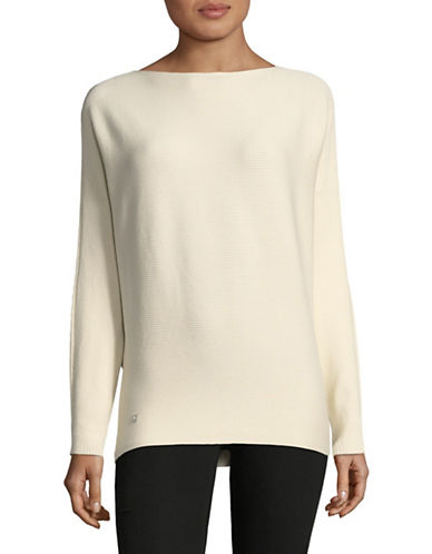 Lauren Ralph Lauren Dolman-Sleeve Sweater-NATURAL-Small