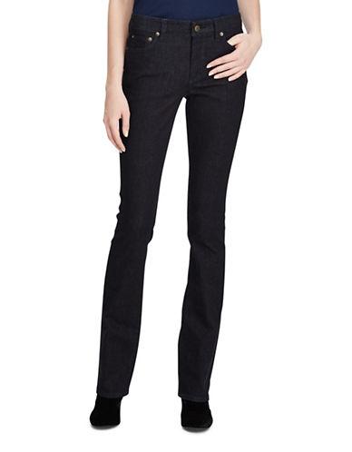 Lauren Ralph Lauren Premier Skinny Bootcut Jeans-BLUE-4