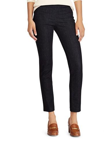 Lauren Ralph Lauren Petite High-Rise Denim Skinny Pants-BLUE-Petite 4
