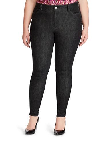Lauren Ralph Lauren Plus Premier Skinny Jeans-GREY-16W