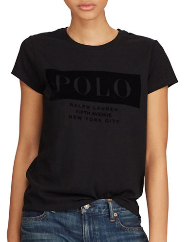 Polo Ralph Lauren Cotton Jersey Tee-POLO BLACK-Large