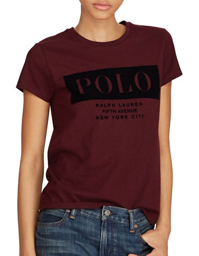 Polo Ralph Lauren Cotton Jersey Tee-RED-X-Large