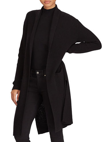 Polo Ralph Lauren Long Sleeve Cardigan-BLACK-Large 89521851_BLACK_Large