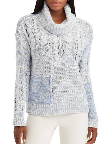 Chaps Sharona Turtleneck Sweater-NATURAL-Medium