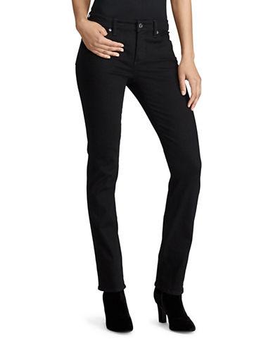 Lauren Ralph Lauren Premier Straight Jeans-BLACK-12