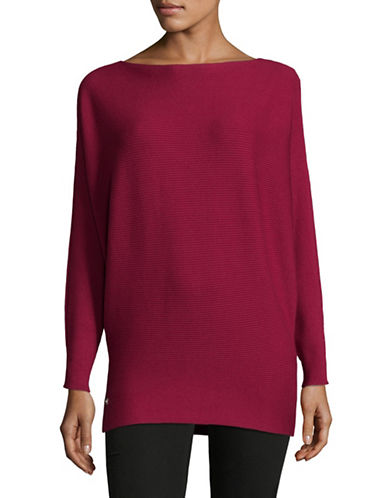 Lauren Ralph Lauren Dolman-Sleeve Sweater-RED-Medium