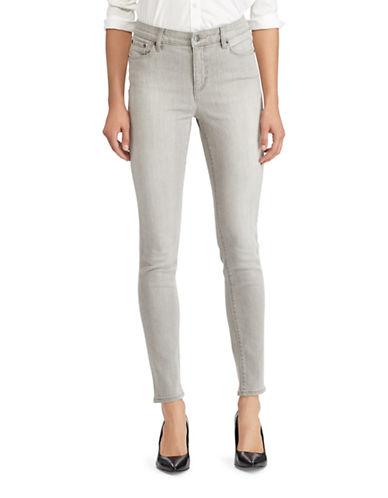 Lauren Ralph Lauren Premier Skinny Jeans-GREY-2