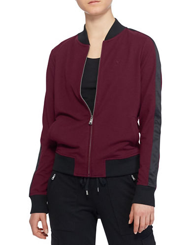 Lauren Ralph Lauren Katrina Tri-Tone Jacket-RED-Large