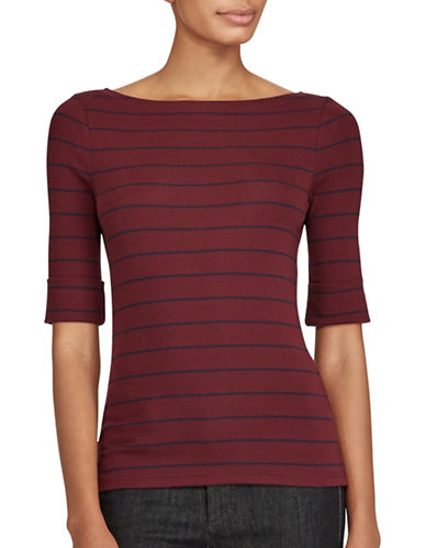 Lauren Ralph Lauren Slim-Fit Long-Sleeve T-Shirt-RED-X-Large 89526927_RED_X-Large