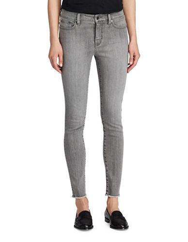 Lauren Ralph Lauren Petite Premier Skinny Cropped Jeans-GREY-Petite 14