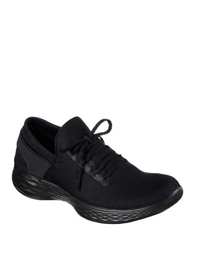 Skechers You Inspire Sneakers-BLACK-8.5