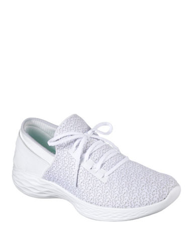 Skechers You Inspire Sneakers-WHITE-6.5
