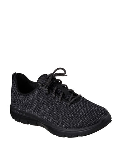 Skechers Flex Advantage Sneakers-BLACK-8.5