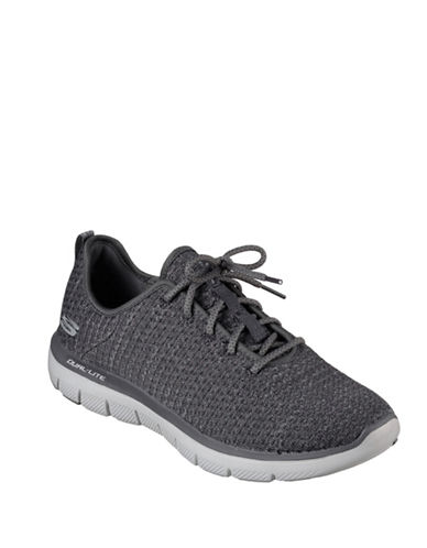 Skechers Flex Advantage Sneakers-CHARCOAL-9