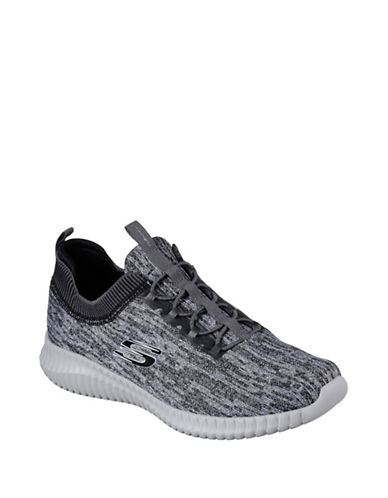 Skechers Mens Elite Flex Hartnell Sneakers-GREY-7.5