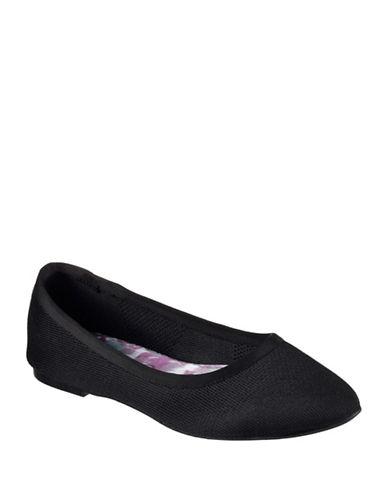 Skechers Cleo Sass Ballet Flats-BLACK-9