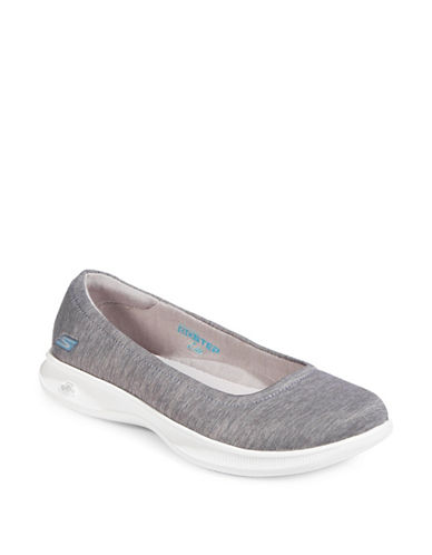 Skechers Go Step Lite Streak Sneakers-GREY-8.5