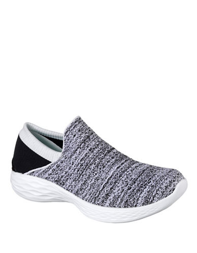 Skechers You Knit Sneakers-WHITE-6