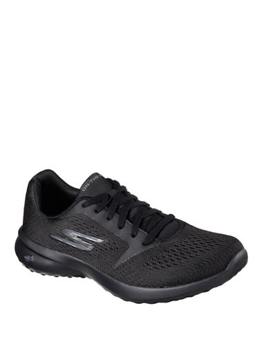 Skechers Mesh Low Sneakers-BLACK-12