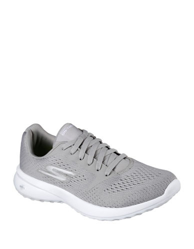 Skechers Mesh Low Sneakers-GREY-8.5