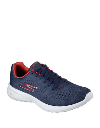 Skechers Mesh Low Sneakers-NAVY-11.5