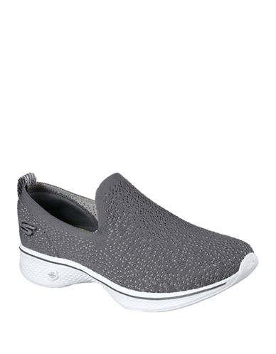 Skechers Go Walk Gifted Sneakers-GREY-7.5