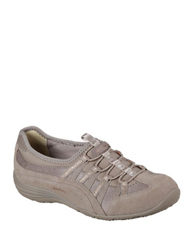 Skechers Unity Beaming Sneakers-TAUPE-6