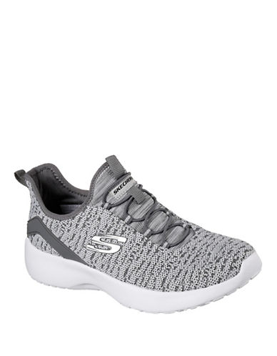 Skechers Dynamite Sneakers-GREY-5.5