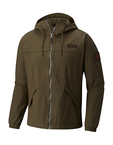 Columbia Cayuta River Hooded Zip Jacket-BROWN-X-Large 90062615_BROWN_X-Large