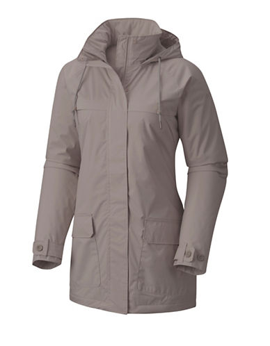 Columbia Lookout Crest Jacket-FLINT GREY-Small