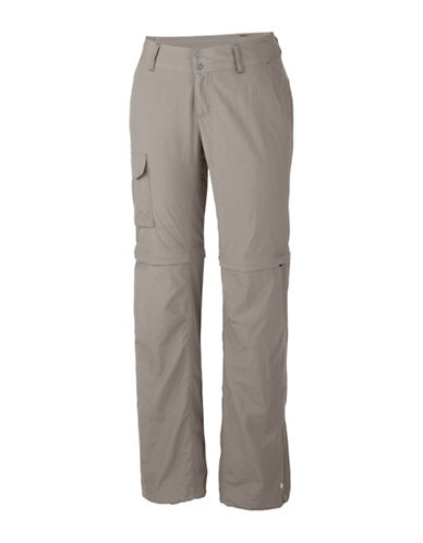 Columbia Silver Ridge Convertible Pants-FLINT GREY-16