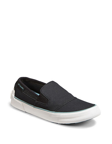 Columbia Womens Goodlife Two Gore Canvas Slip-On Sneakers 89913489