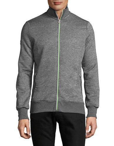 Superdry Orange Label Tri-Track Top-GREY-Small