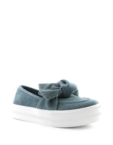 G By Guess Chippy Slip-On Sneakers-BLUE-6