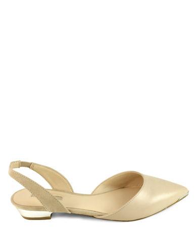 Guess Olanda Point Toe Sandals-NATURAL-5.5