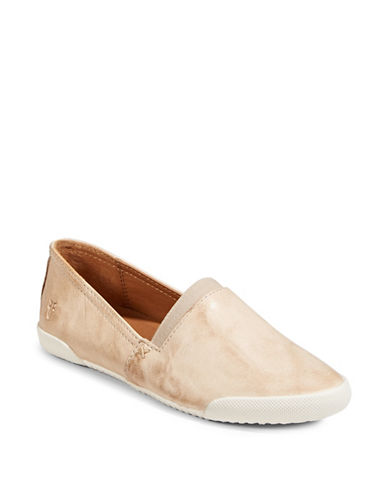Frye Melanie Slip-On Loafers-NATURAL-8.5