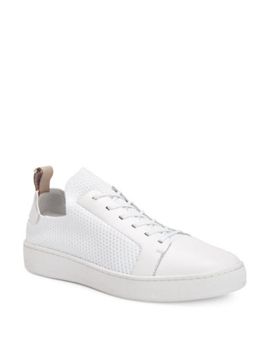 Calvin Klein Nibbs Knitted Sneakers-WHITE-10.5
