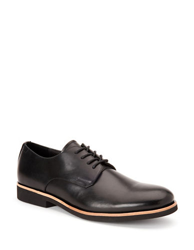 Calvin Klein Faustino Smooth Oxfords-BLACK-9.5