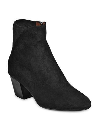 Aquatalia Flaviana Suede Ankle Boots-BLACK-6