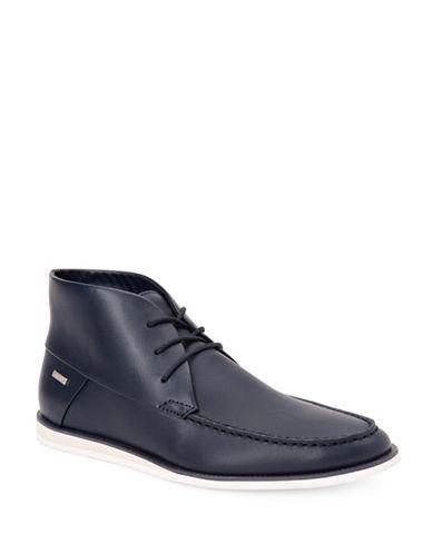 Calvin Klein Kenley Brushed Sneaker Boots-DARK NAVY-7.5