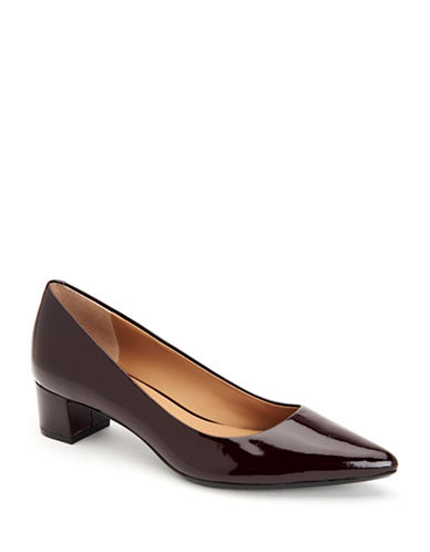 Calvin Klein Genoveva Pumps-OX BLOOD-6.5