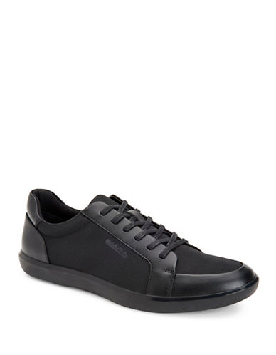 Calvin Klein Macabee Brushed Sneakers-BLACK-11