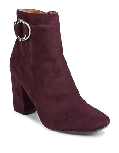 Calvin Klein Cedrica Leather Booties-OXBLOOD-8.5