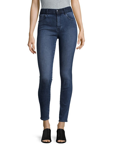 J Brand Carolina Super High Rise Skinny Jeans-POINT BLANK-30