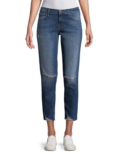 J Brand Sadey Slim Straight Jeans-BLUE-27