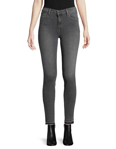 J Brand Alana High-Rise Skinny Jeans-GREY-28