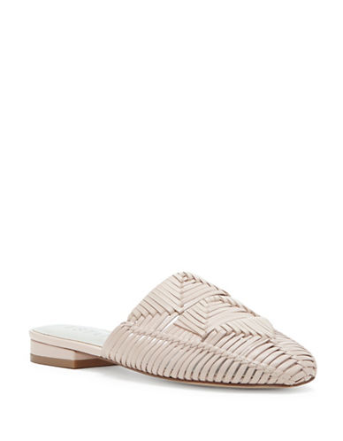 1 State Syre Woven Leather Mules-NATURAL-5.5