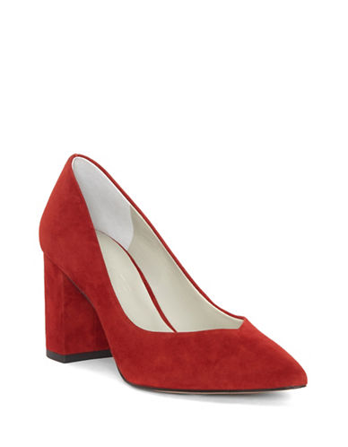 1 State Saffy Suede Pumps-RED-6
