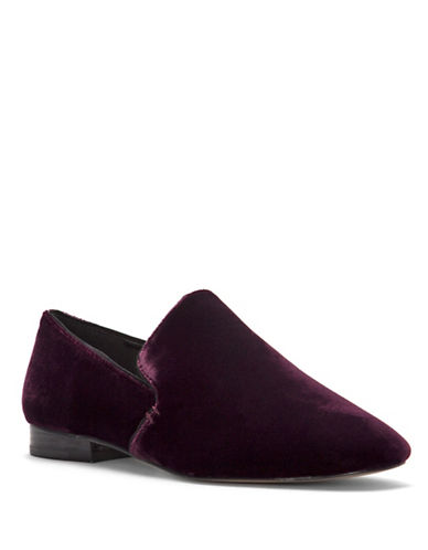 1 State Willasa Velvet Slippers-BURGUNDY-8.5